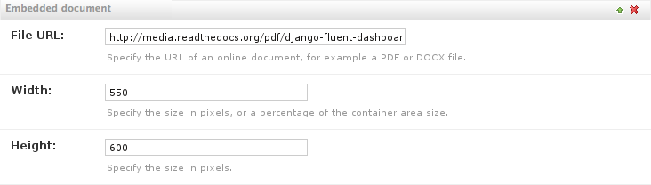 The googledocsviewer plugin — django-fluent-contents 2 0 6 documentation